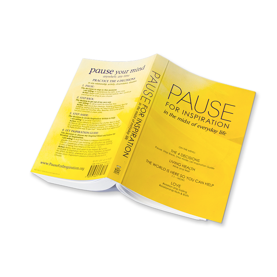 Pause For Inspiration Book